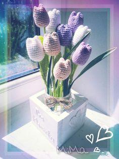 Crochet flowers.. ♡