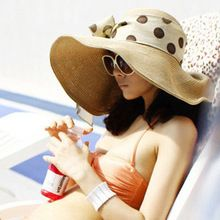 The perfect travel sun hat - foldable, floppy, and flirty.