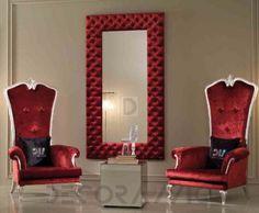 #red #interior #design кресло DV Home Vogue, VOG.TR.ECO