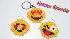 Tre Faccine Emoticon con Pyssla - Hama Beads Tutorial | Emoji Series Epi...