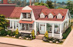 Home Design Plans, Plan Design, Sims 4 Stories, Sims House Plans, Sims House Design, Suburban House, Sims 4 Build, Sims 4 Houses, Sims 4 Mods