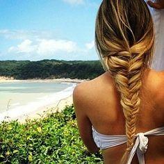 big loose braid