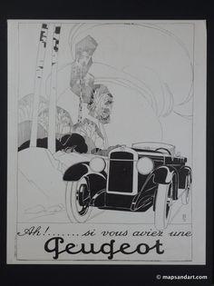 Peugeot 1920s L'Illustration