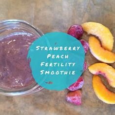 (Try with some dark greens and royal jelly) Strawberry + Peach #Fertility Smoothie coming your way... 1/2C Strawberries  1/2C Peaches  1 1/2C Almond milk  1t Fertilica Maca  1 Scoop FertiliWhey protein