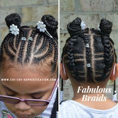 www.chi-chi-sophistication.com Cornrows for kids
