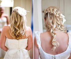 Pretty Bridal Hairstyle