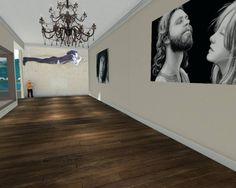 painting of Jim Morrison