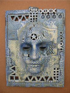 Neil MacDonell - ceramic mask