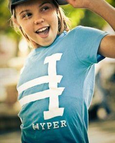Bold color. Simple Design. Everything Hyper stands for. Hyper Handwritten Logo Shirt. Martial Arts Athlete Apparel | Hyper Martial Arts