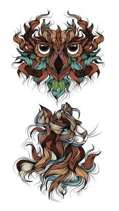 Magic Forest on Behance