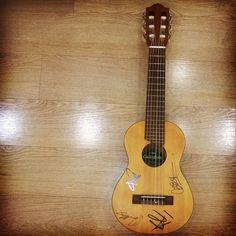 Grazie @officialskunkanansie :D #skunkanansie #skinthings #ukulele #guitalele #zoci #zoci_singer #xf9
