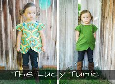 The Lucy Top {New Pattern} - Shwin and Shwin