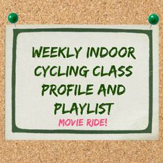 indoor cycling class profile