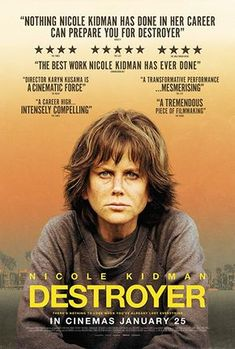 Directed by Karyn Kusama. With Nicole Kidman, Toby Kebbell, Tatiana Maslany, Sebastian Stan. A police detective reconnects with people from an undercover assignment in her distant past in order to make peace. 2018 Movies, Netflix Movies, Movies Online, Movie Tv, Netflix Users, Netflix Streaming, Best Action Movies, Good Movies To Watch, Great Movies