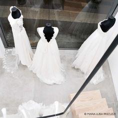 Retail design - Maria Luisa Pascuzzi Retail Design, Mermaid Wedding, Wedding Dresses, Fashion, Atelier, Bride Dresses, Moda, Bridal Gowns, Alon Livne Wedding Dresses