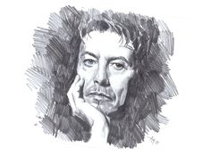 """"""" Quick drawing of music legend David Bowie. Music Drawings, David Bowie, Sketches, Faces, Portrait, Painting, Art, Drawings, Art Background"""