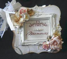 Cricket_0820s Gallery: Beautiful Memories Shabby Chic Chipboard Album