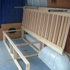 trendy ideas for ford transit campers conversion diy Campervan Bed, Campervan Interior, Equipement Camping Car, Combi Ww, Camper Beds, Monospace, Kombi Home, Camper Van Conversion Diy, Ford Transit Camper Conversion