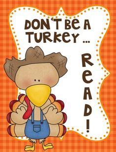 Turkey Loves Reading: 2 Freebie Mini-Posters