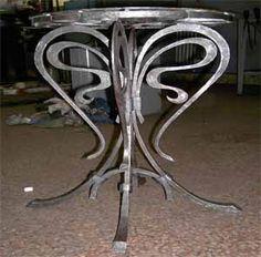 Кованый столик - Căutare Google