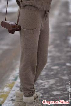 . Спортивные брючки. - Машинное вязание - Страна Мам Knit Pants, Knit Dress, Fall Winter, Autumn Winter Fashion, Fall Knitting, Crochet Wool, Fall Fashion Outfits, Cyber Monday, Sweater Weather