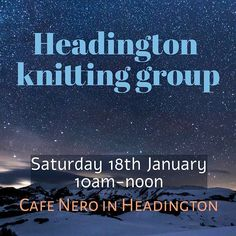 January's knitting group meeting will be onsaturday - Saturday 18th Januaryat Cafe Nero in Headington Oxford from 10am till noon. Everyone is welcome but we have an ongoing policy of prioritising the comfort of members who belong to 'minority' groupsof any kind (race religion size gender or orientation.) The cafe is easy to get to by bus and there is parking nearby on st leonards road.  i hope to see you there! New members always welcome!  #indiedyer #yarn #yarnlove #bfl…