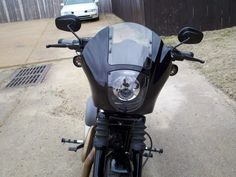 Detachable Quarter Fairing Kit - The Sportster and Buell Motorcycle Forum