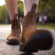 Blundstones Cool Boots, Types Of Fashion Styles, Tweed, Riding Boots, Chelsea Boots, Shoes, Inspiration, Boots, Horse Riding Boots