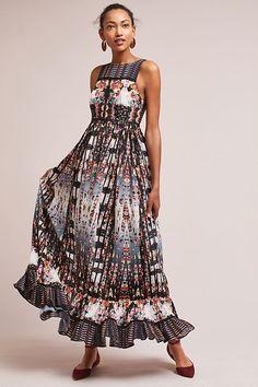 Slide View: 1: Amira Tiered Dress