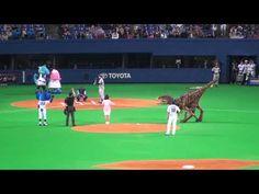 2010.04.02 ドアラvs恐竜 - YouTube