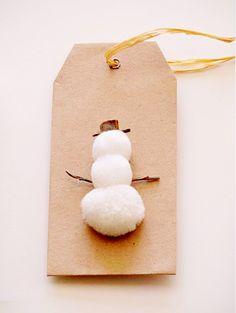 DE LUNARES Y NARANJAS: Etiquetas para regalos de Navidad