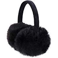 Family Stars Geometry Art Pattern Winter Earmuffs Ear Warmers Faux Fur Foldable Plush Outdoor Gift