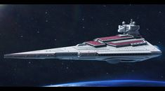 Rendili StarDrive Victory I-class star destroyer by Shoguneagle on DeviantArt Star Wars Sith, Star Trek, Battle Of Concord, Film Solo, Spaceship Art, Spaceship Concept, Nave Star Wars, Star Wars Novels, Capital Ship