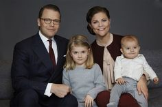 Royal Family Around the World: Princess Estelle of Sweden turns five on February 23, 2017