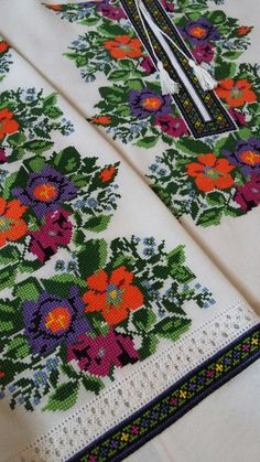 Afghan Dresses, Hand Embroidery, Cross Stitch Patterns, Diy And Crafts, Folk, Costumes, Knitting, Elsa, Flowers