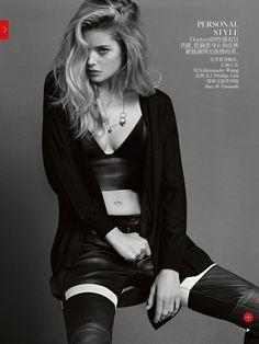 Vogue China Setembro 2013 | Daria Strokous, Kati Nescher, Doutzen Kroes e mais por Inez & Vinoodh [Editorial] Blog de Moda