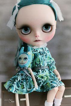 Farewell Georgina ( make dress and matching little critter doll)