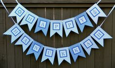 Hanukkah Banner Decoration Paper Chanukah by Luluslabelsandprints, $20.00