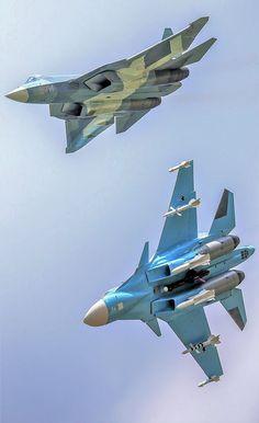 ПАК ФА Т- 50 и Су - 34