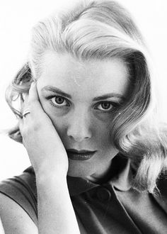 If you ever feel bad about dark circles under your eyes, Grace Kelly wasn't perfect all the time either. Grace Kelly, 1955 ~ Photographed by Howell Conant