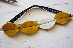 little leaf headband tutorial