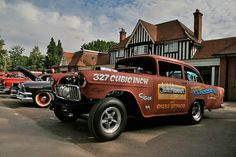 The World's Best Photos of chevrolet and gasser 1955 Chevy, 1955 Chevrolet, Rc Cars And Trucks, Good Looking Cars, Vintage Race Car, Drag Cars, Drag Racing, Custom Cars, Hot Rods