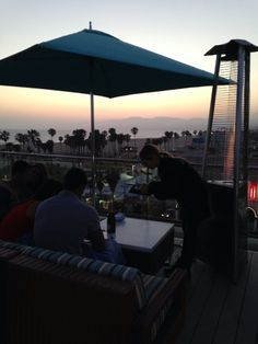 High Rooftop Bar at Hotel Erwin in Venice, CA: No Place Like It. Overlooks Santa Monica Mountains And Pacific Ocean. I Always Try To Make A Point To Come Here And Get My Thoughts Together