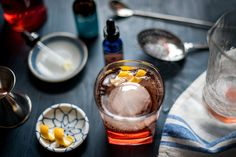 Cold Brew Old Fashioned with Holderness Coffee Roasters coffee.   Portland Food Photographer