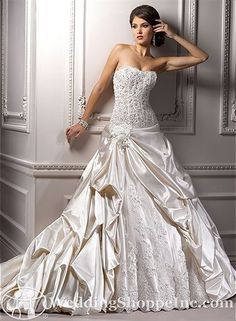 Order a Maggie Sottero Perla Bridal Gown at The Wedding Shoppe today