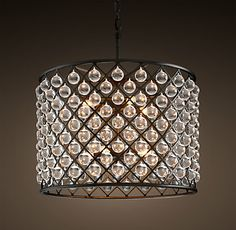 Ceiling | Restoration Hardware, new spencer chandelier medium, $2695