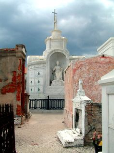 The Saint Louis Cemetery #1 opened 1789 (there is just something about history that makes you want to time travel, even the Ebenezer Scrooge experience would cut it for me.  )