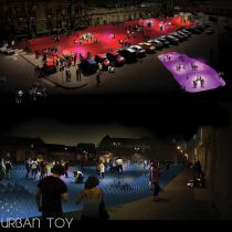 Urban Toy (Fondation Concept Lumiere Urbaine CLU Light It For Humanity Competition/ May Clu, Competition, Wrestling, Concept, Urban, Lucha Libre