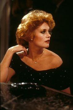 The transformation beauty of a young Melanie Griffith in Working Girl....