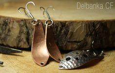 Delbanka - nie pracuje jak typowa wahadłówka, jej praca przypomina bardziej dobrego woblera. #wędkarstwo #przynęty #rękodzieło